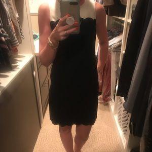 Black and cream work dress